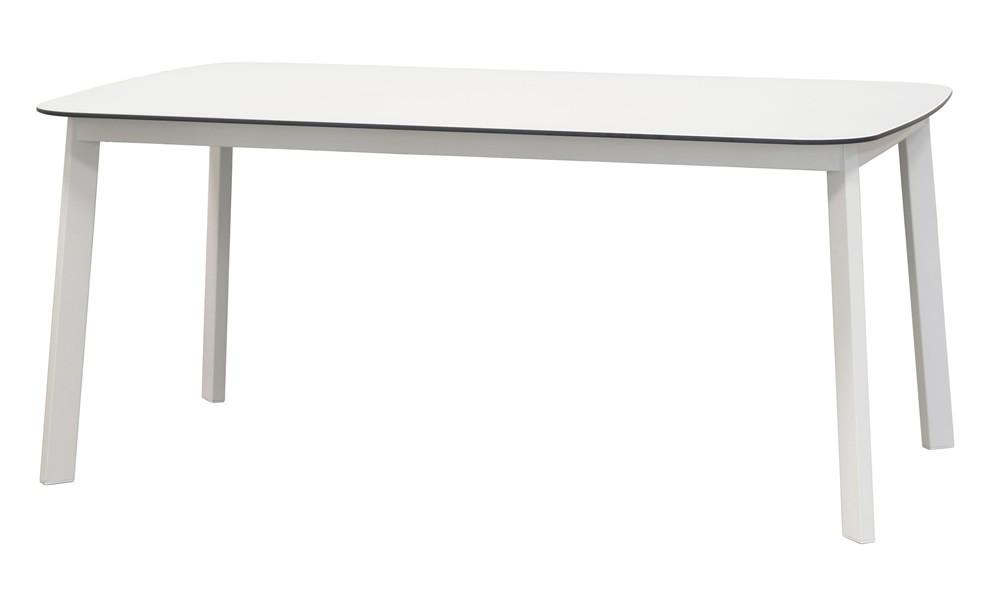 emu tisch shine wei matt hpl. Black Bedroom Furniture Sets. Home Design Ideas